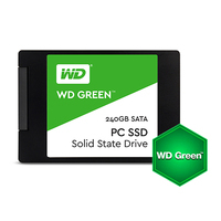 "SSD WD Green 240GB 2.5"" SATA III SLC, read-write: up to 540MBs, 465MBs"