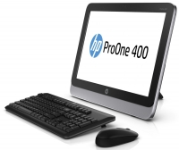 НАСТОЛЕН КОМПЮТЪР - HP ProOne 400 G1 19.5-inch Non-Touch All-in-One PC, G1820T, 4GB, 500GB, Win 7 Pro 64