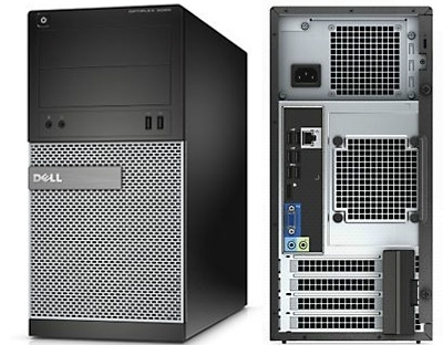 Настолен компютър, Dell OptiPlex 7020 SF, Intel Core i5-4590 (3.30GHz, 6MB), 4096MB 1600MHz DDR3, 500GB HDD